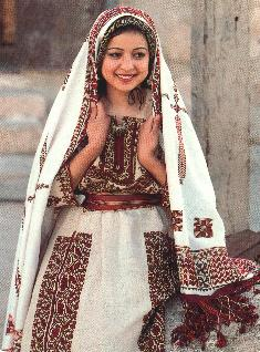 Contemporary Palestinian Costume And Embroidery